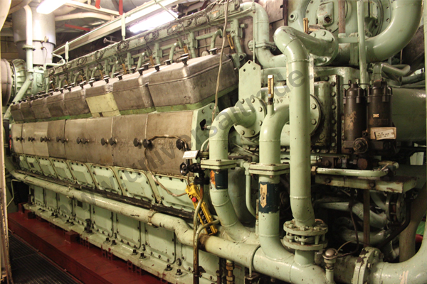 Marine Ship Main Engine